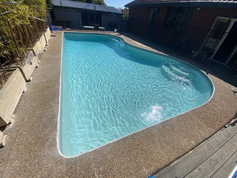 Pool renovation Loftus, Sutherland Shire
