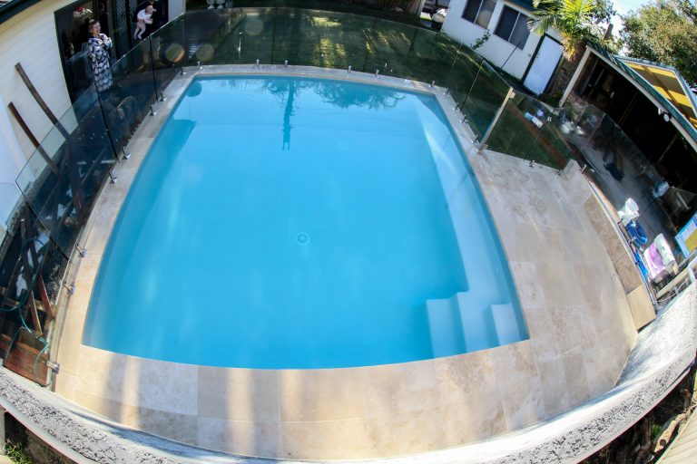 Pool Renovation – New Pool inside of existing pool in Loftus, Sutherland Shire